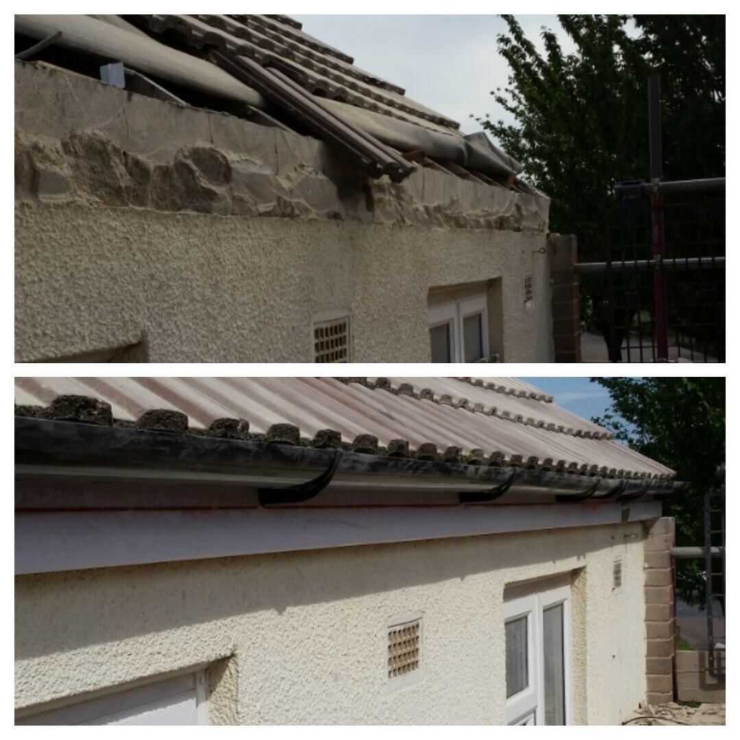 Concrete Guttering in Cambridge - Alpha Roofing Services