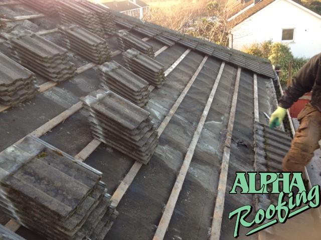 roofing cambridge - tiled roof repair
