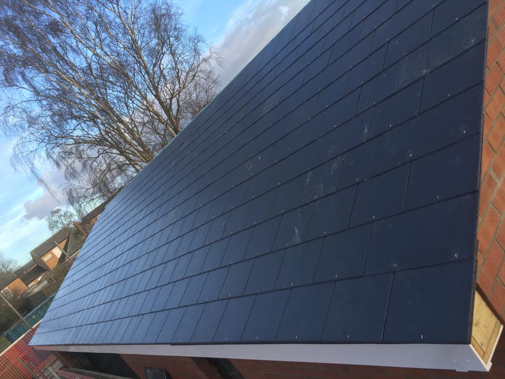 Garage roof repair in Cambridge
