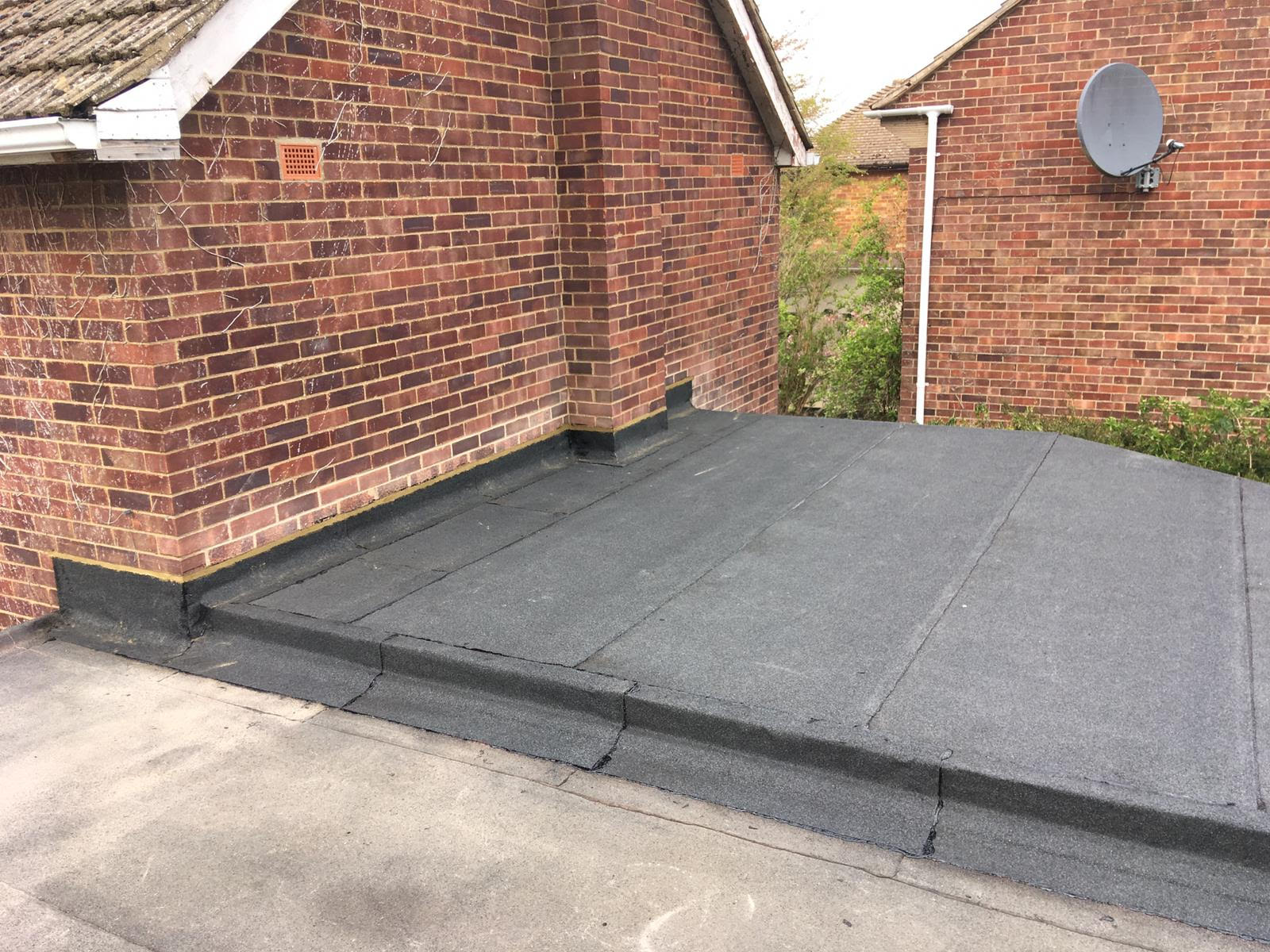 Flat Roof in Cambridge