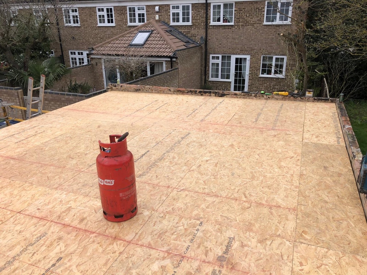 Cambridge-garage-roof-rebuild-repair