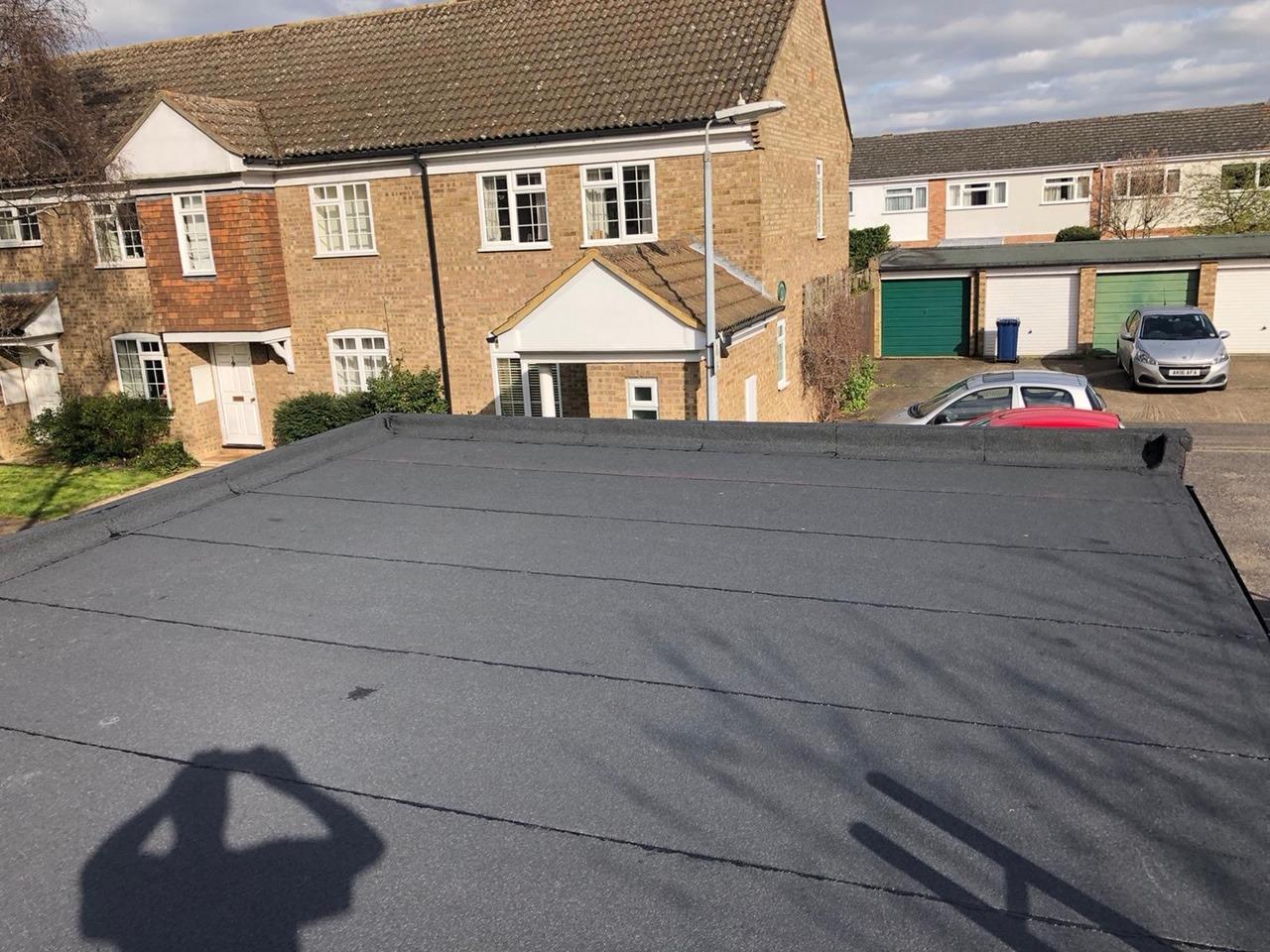 Garage roof rebuild and repair Cambridge