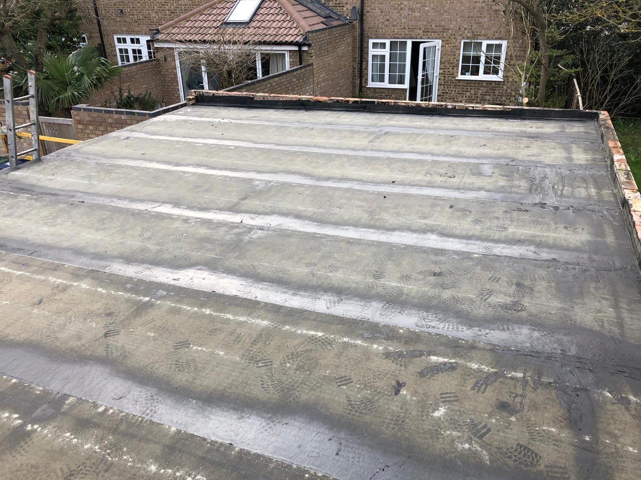 Cambridge-garage-roof-rebuild