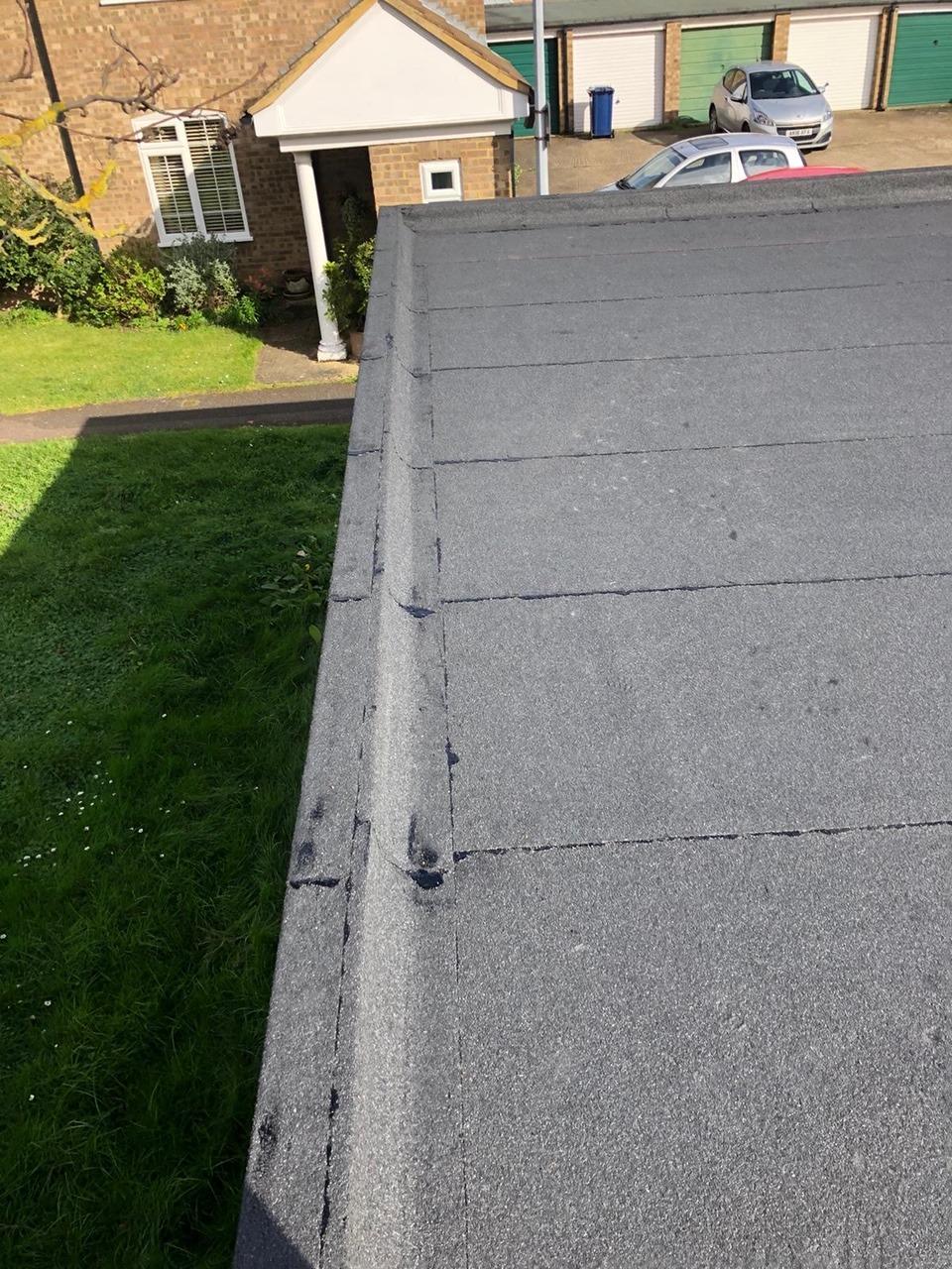 Garage roof rebuild Cambridge